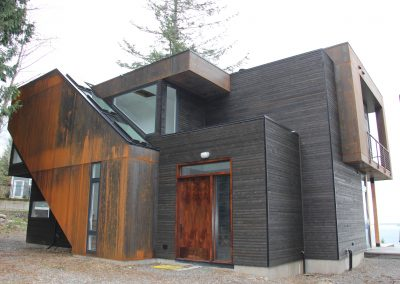 Charred Look - Exterior Tight Knot Cedar