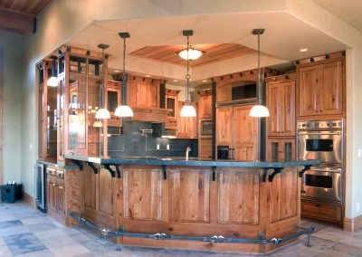 Custom Kitchen with Cedar Accents