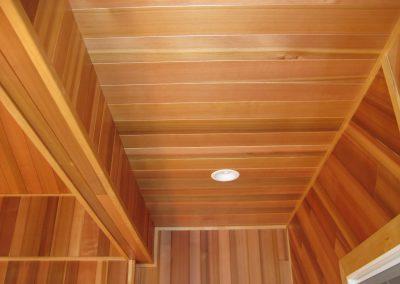 Interior VG Cedar T&G