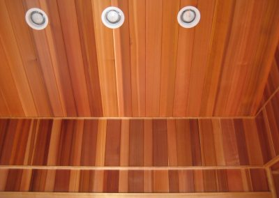 Interior VG Cedar Wainscoting